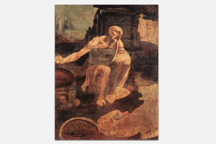 Леонардо даВинчи, «Святой Иероним»
