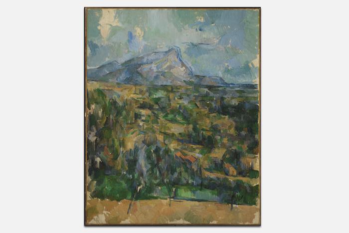Поль Сезанн, «Гора Сент-Виктуар»
