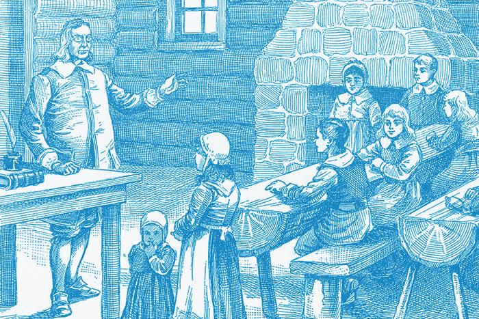 История информации: *как школьный учитель создал первый в мире словарь английского языка*