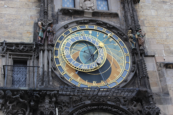 астрономические часы вПраге
