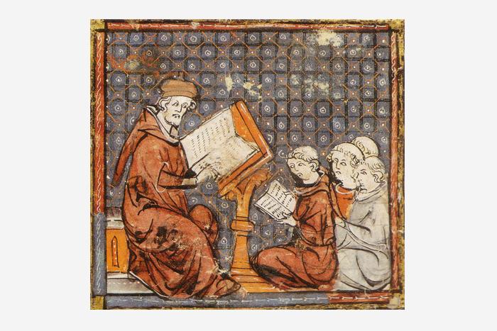 урок, Франция, конец XIV века