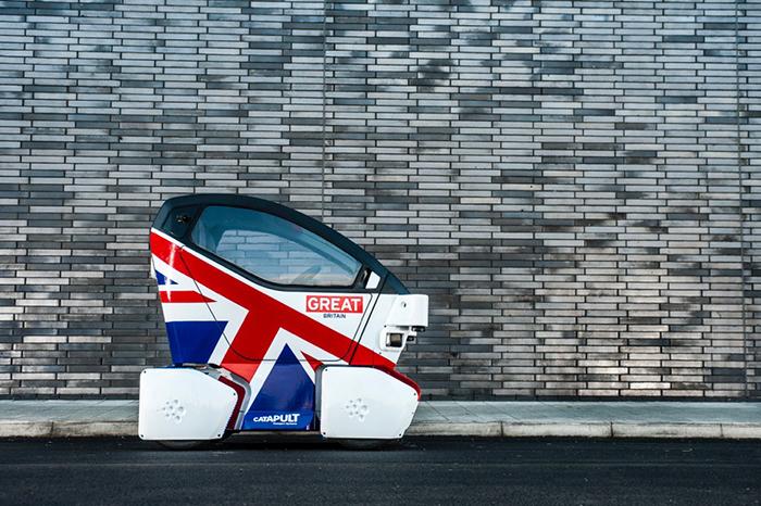 Милтон-Кинс: *беспилотные автомобили в сердце Великобритании*