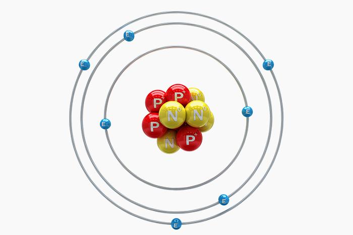 Атом азота © iStock
