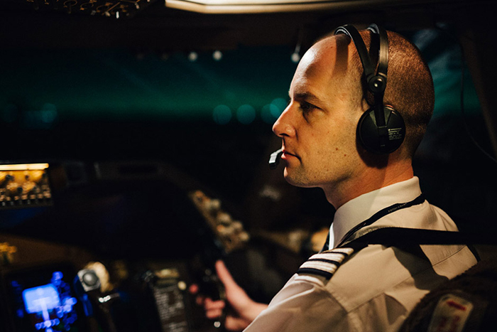 Марк Ванхонакер вкабине пилота Фото: © Gr...