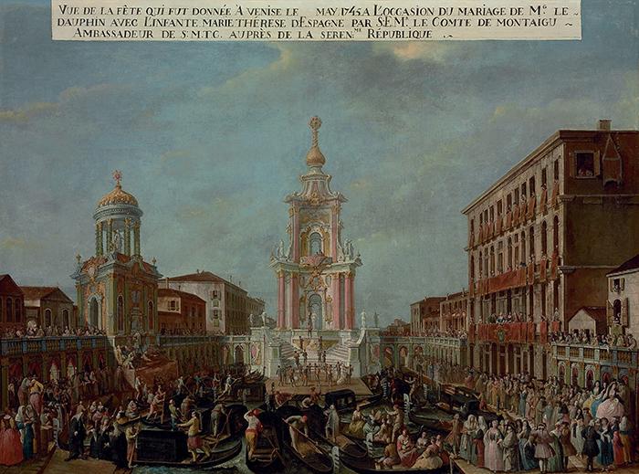 Scuola veneziana— La celebrazione delle n...