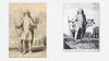 гравюры, изображающие жреца