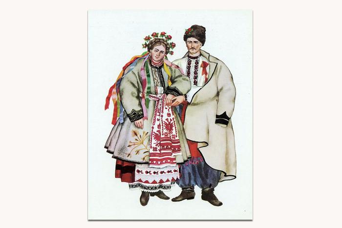 свадебный национальный костюм разных регионов У...