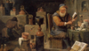 "David Teniers the Younger, ""L'Alchimiste"""