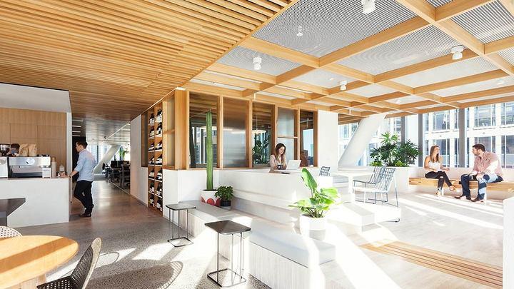 Офис Dropbox вСиднее © Gensler.com