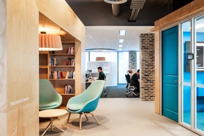 Офис REA Group © Futurespace.com.au