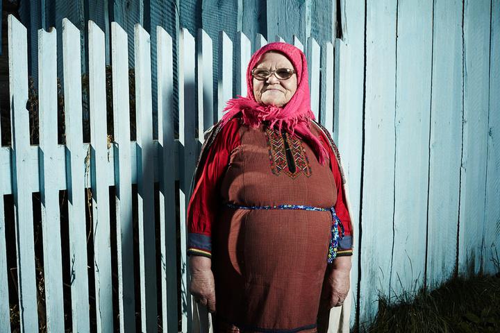 Евдокия Петрова, 84года. Деревня Марийски...
