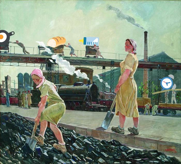 Александр Дейнека. «Донбасс». 1947год