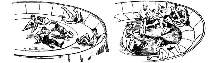 Аттракцион «колесо смеха»