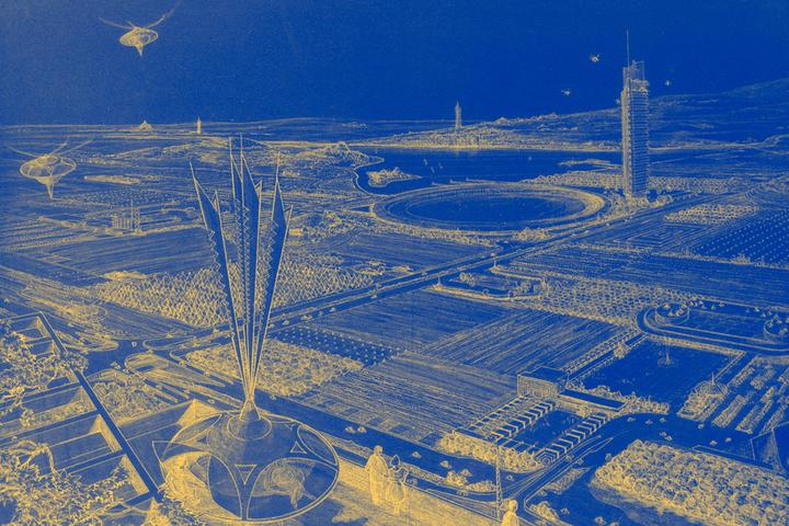 «Дом станет садом, а сад — домом»: город будущего по версии Фрэнка Ллойда Райта