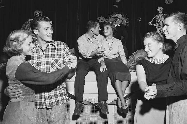 Празднование Хеллоуина, 1950-е годы