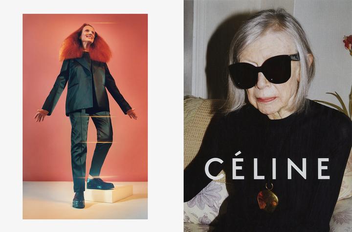 Рекламные кампании Calvin Klein иCéline