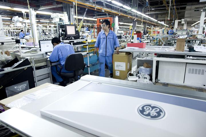 GE Healthcare вПекине © Bloomberg