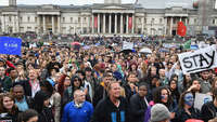 Протест против выхода Великобритании изЕв...