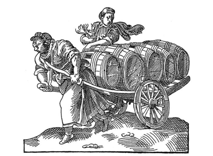 Женщины идети исполняли припивоварн...