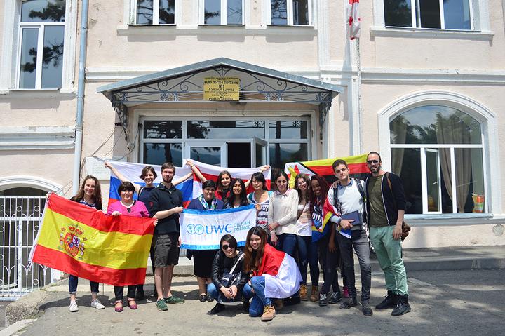 Студенты UWC Dilijan вГрузии