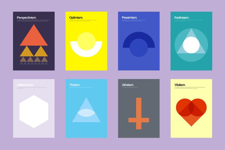 Находка T&P: вся суть философских течений в 95 плакатах