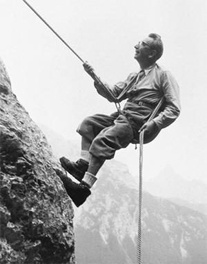 Франкл вАльпах, 1960год