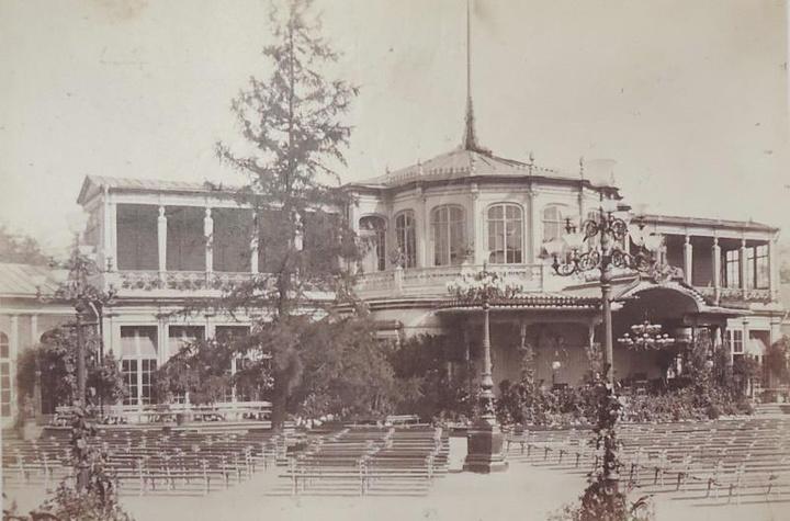 Альфред Лоренс, Вокзал вПавловске, 1860-1...