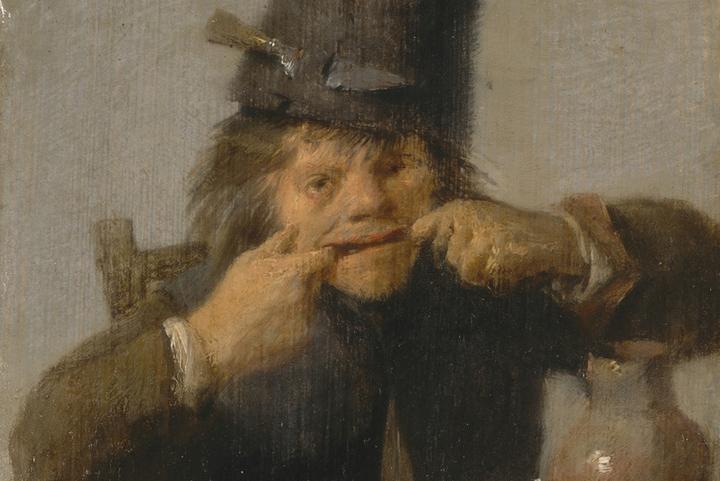 Адриан Брауэр, «Юноша, делающий гримасу», 1632-35