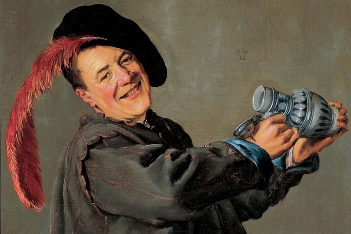 Джудит Лейстер, «Веселый пьяница», 1629