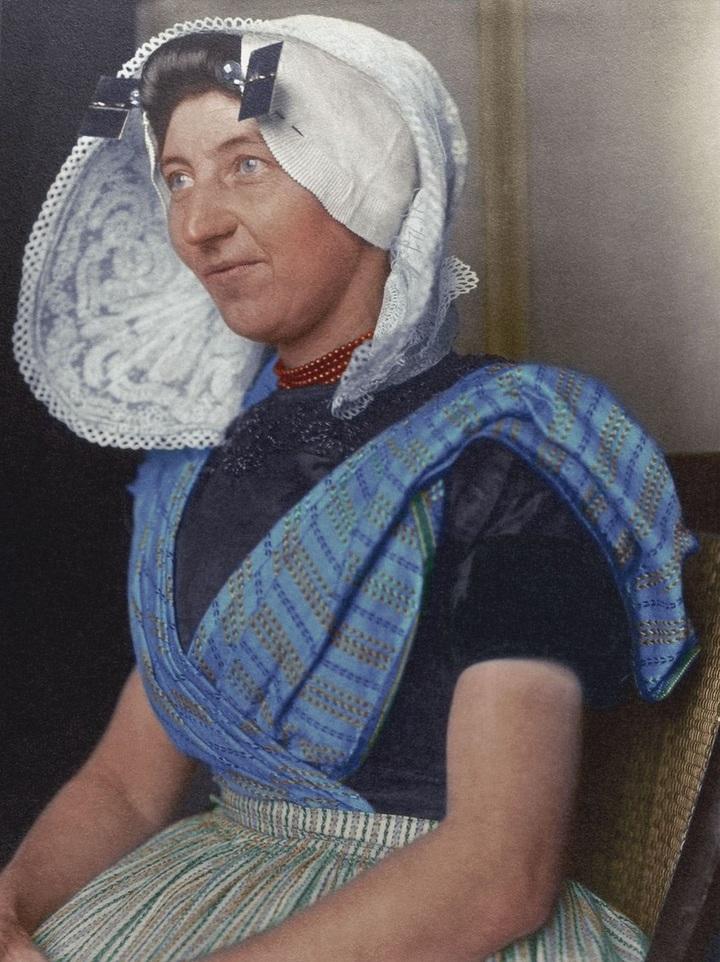 Женщина изНидерландов.1910год