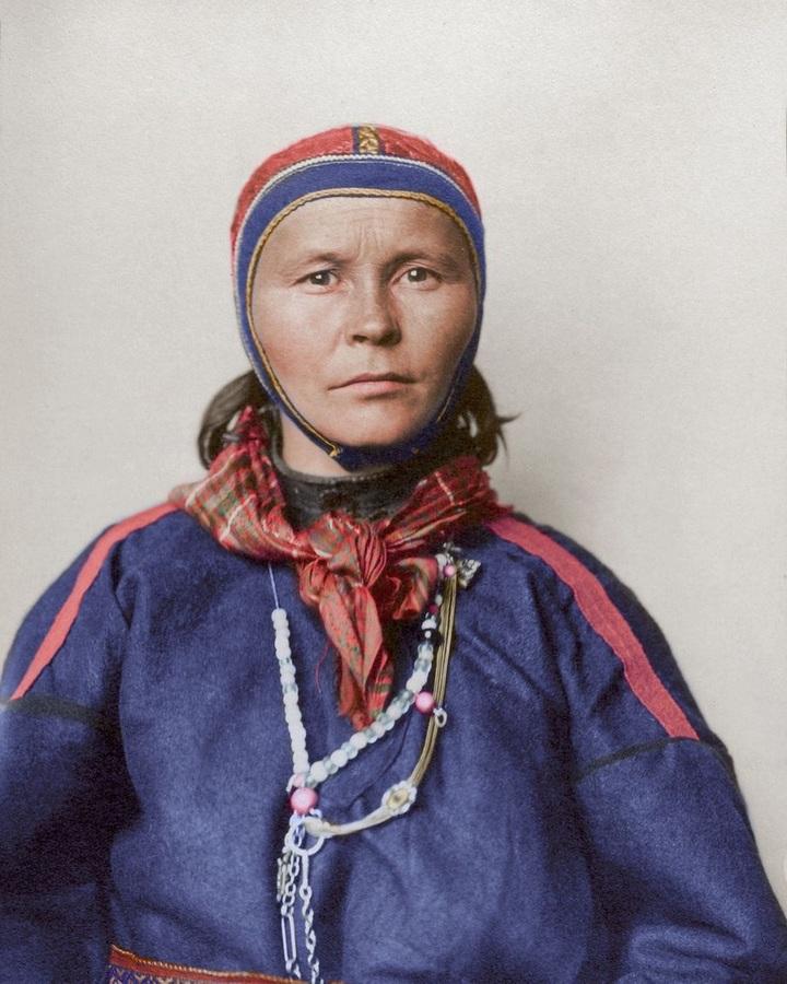 Женщина изЛапландии. 1910год