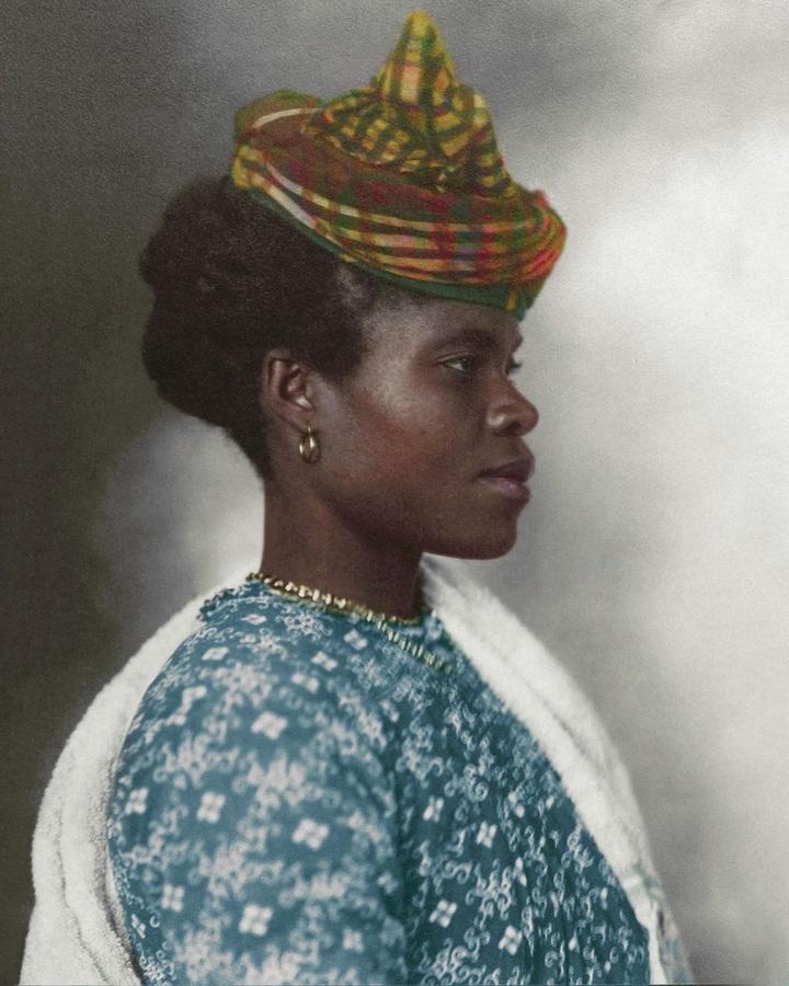 Девушка изГваделупы. 1911год