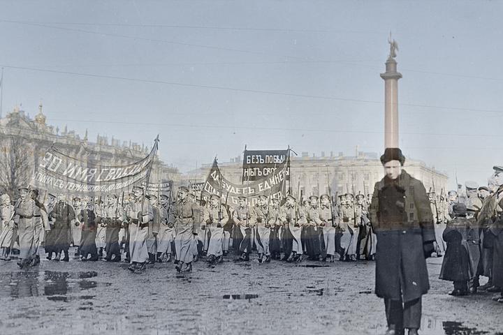 Находка T&P: Москва и Петербург во время революции 1917 года и сейчас