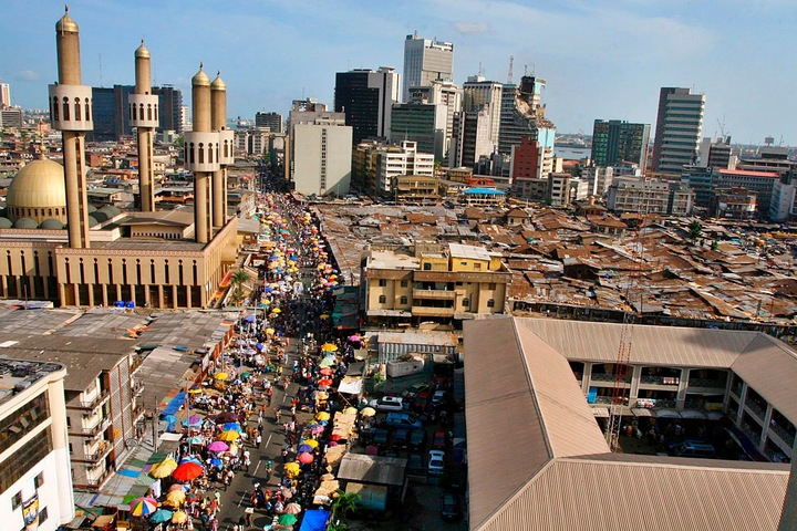 Лагос, Нигерия © http://nnedi.blogspot.ru/