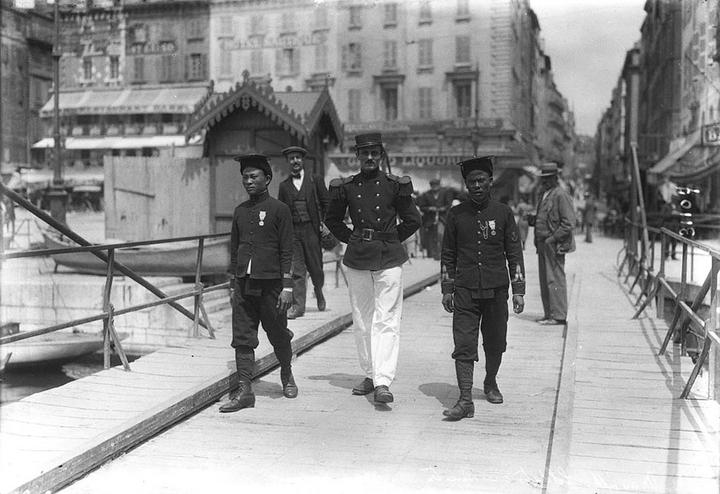 Солдаты, 1913год. Фото: Agence Rol