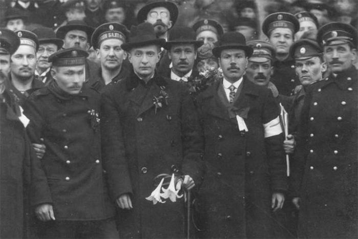 Эстония, апрель 1917года