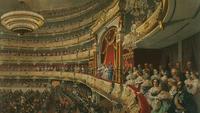 Вид нацарскую ложу Большого театра