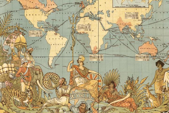 Находка T&P: архив старинных карт городов России и мира