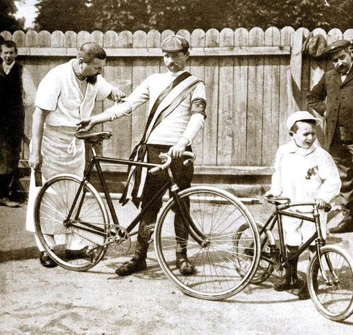 Победитель первой «Тур де Франс» Морис Гарен. 1...