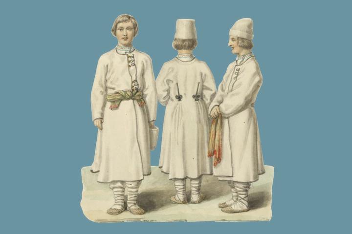 Находка T&P: как одевались жители Российской империи в середине XIX века