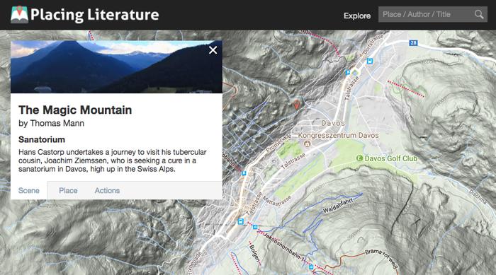 ВАльпийских горах недалеко отДавоса...