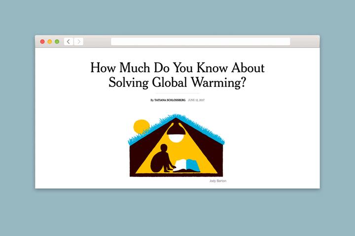 Проверка T&P: насколько экологично вы себя ведете