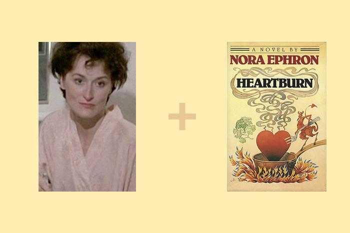 Кадр изфильма «Ревность» (Heartburn, 1986...