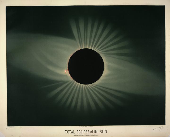 Солнечное затмение 29 июля 1878года в&nbs...
