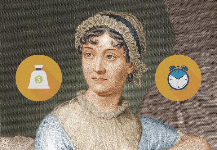 Находка T&P: 6 романов Джейн Остин в графиках
