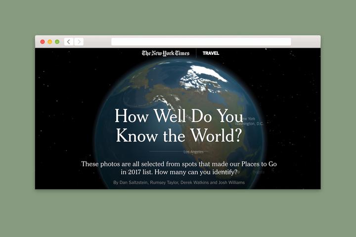 Проверка T&P: угадайте место на планете по фотографии