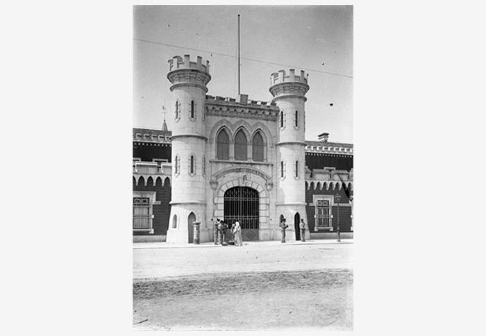 Главные ворота Национальной лиссабонской тюрьмы