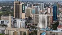 Найроби, центр города. Кафедральный собор Свято...