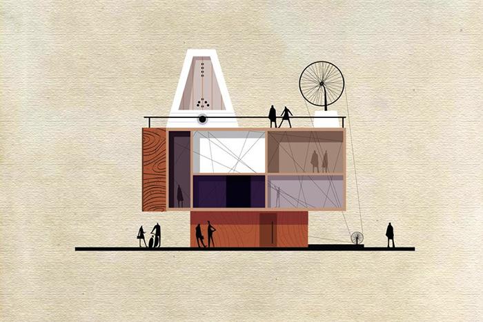 Находка T&P: психические заболевания, кино и искусство глазами архитектора