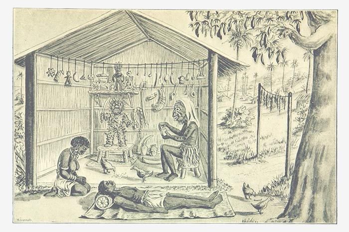 Целительные практики Конго. 1887год